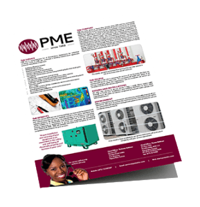 PME Brochure - Logistics support Port Moresby, PNG