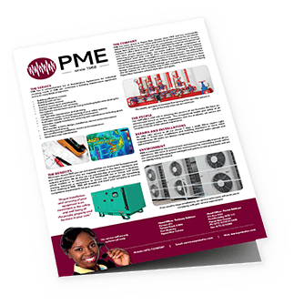 Company overview brochure - PME