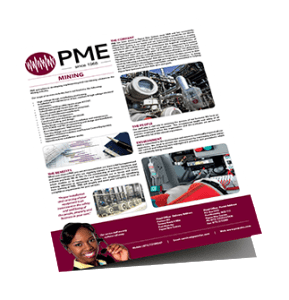 PME Brochure - Electrical engineering services Port Moresby, PNG