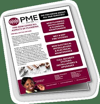 Plumbing Brochure - PME
