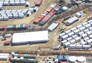 Mining camps - Mining services Port Moresby, PNG