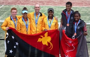 Tennis stars - High voltage installations Port Moresby, PNG