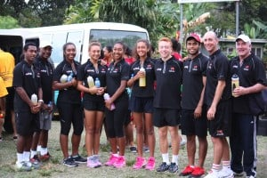 Tennis stars - Hazardous Area installations Port Moresby, PNG