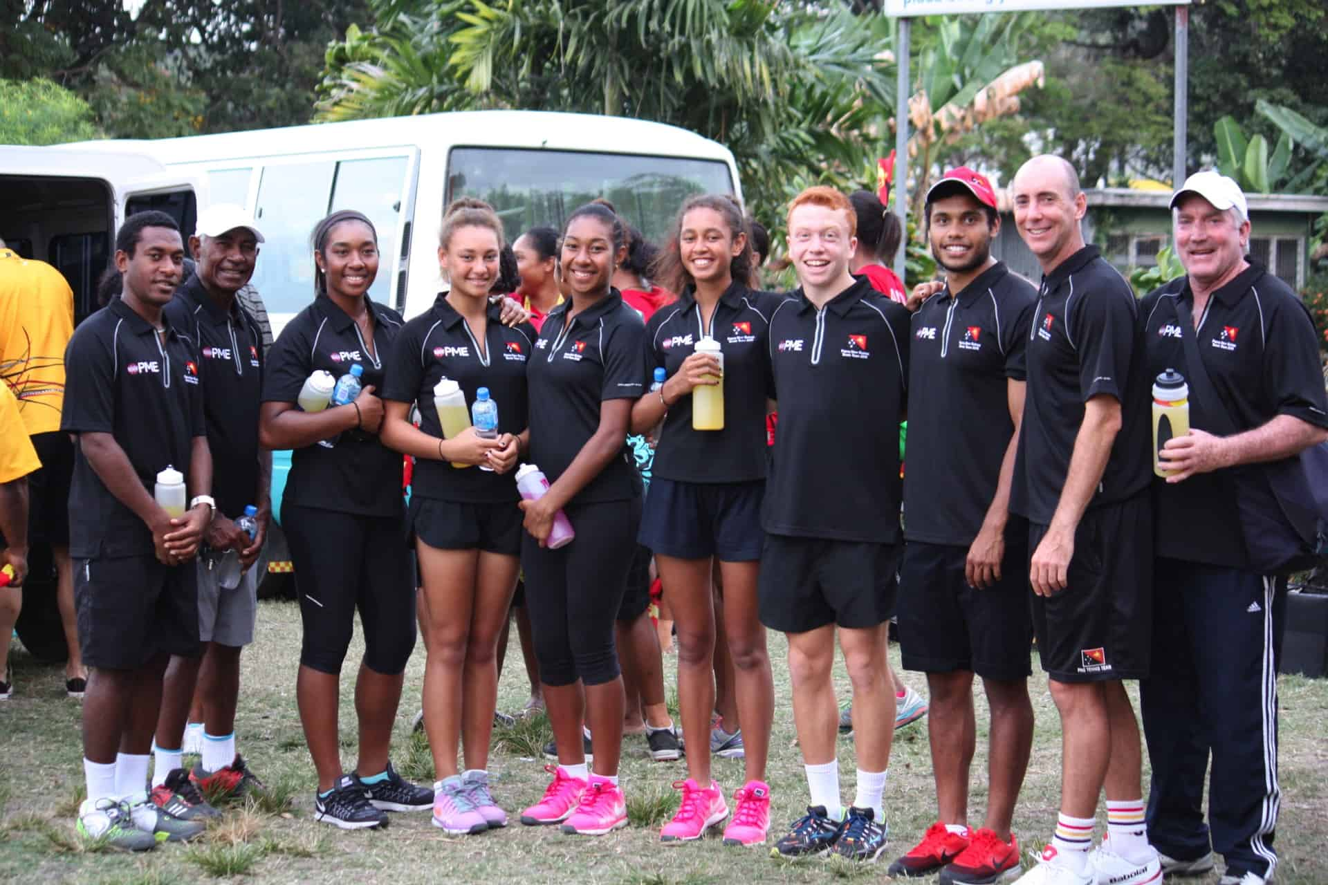 Tennis stars - Hazardous Area installations Port Moresby, PNG