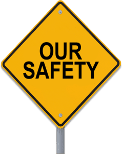 our safety logo - Electrical installations Port Moresby, PNG