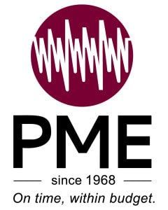 PME Vertical logo - Oil and gas services Port Moresby, PNG