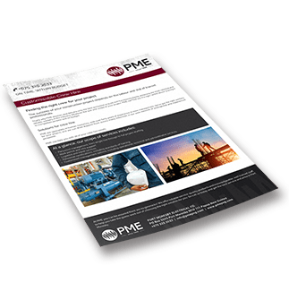 Customisable Crew Hire Brochure - PME