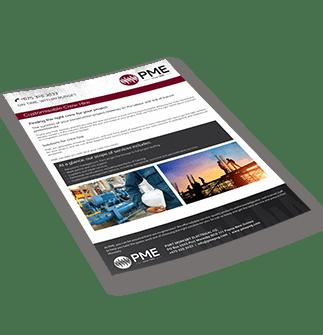 Customisable Crew Hire Brochure - PME