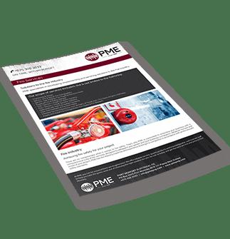 Fire Services Brochure - PME