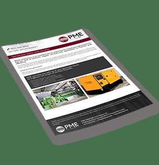 Generator sales and service Brochure - PME