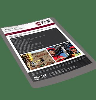 Mining Brochure - PME