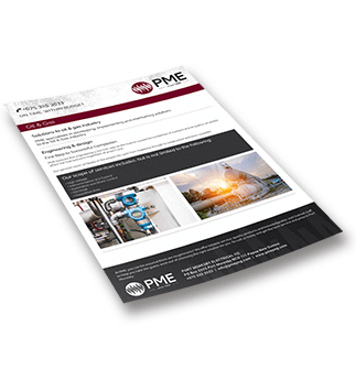 Oil & Gas Brochure - PME