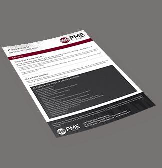 Service Brochure - PME