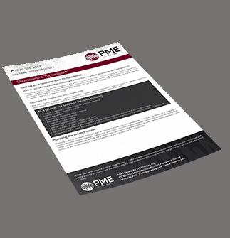 Shutdowns & Turnarounds Brochure - PME