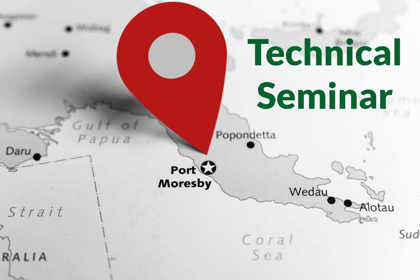 Tech Seminar - Electrical installations Port Moresby, PNG