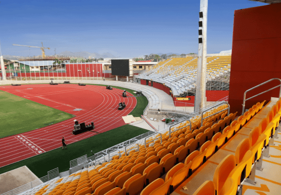 PNG Stadium - Building management Port Moresby, PNG