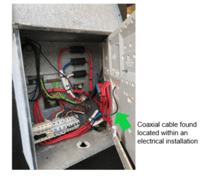 segregation low voltage cabling